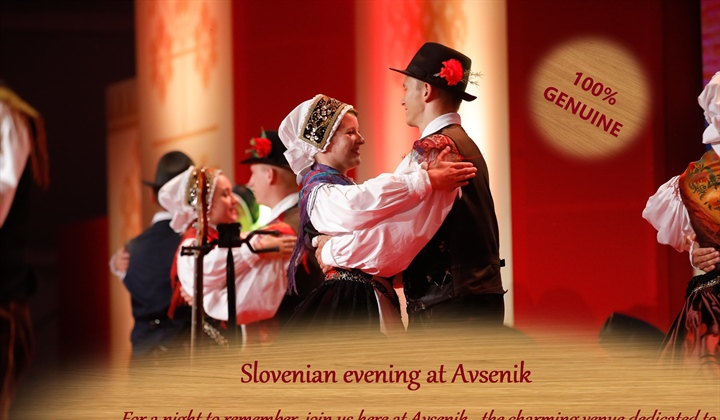 Slovenian evening at Avsenik, Friday 21.6.2019