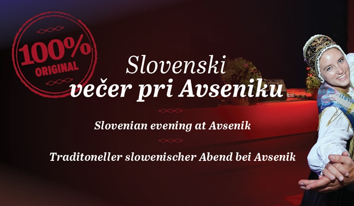 New! Slovene evenings at Avsenik