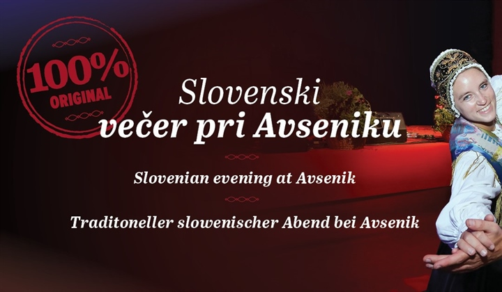 Slovenian evening at Avsenik, Wednesday 7. and 14.8.2019