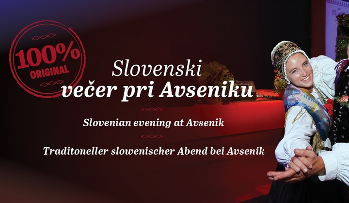 Slovenian evening at Avsenik, Friday 11.10.2019