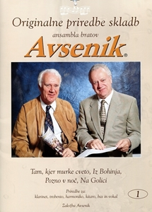 Original arrangements of songs by the Avsenik Brothers Ensemble / Folder nr. 15